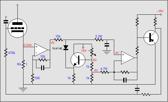 amplifier auto bias circuits  class