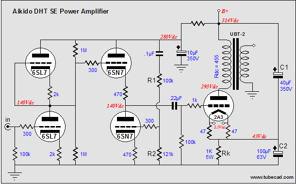 Low Cost Powerful Am Transmitter furthermore Fuzznikator1 as well ankaudiokits furthermore Rca Rs 199b as well L3el84pp. on el84 schematic
