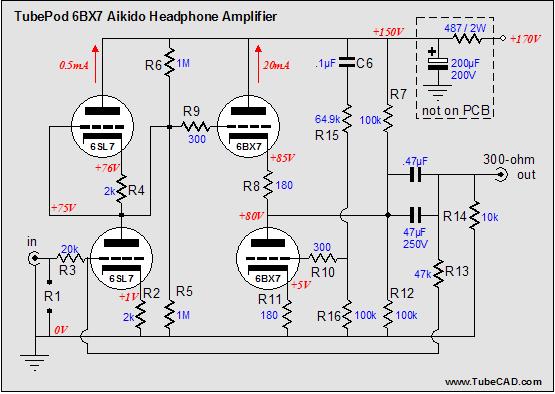 Aikido Headphone Amplifier