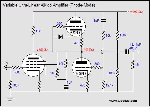 Ultra-linear Aikido Amplifers