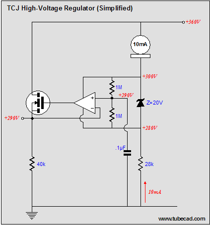 A New High-Voltage Regulator