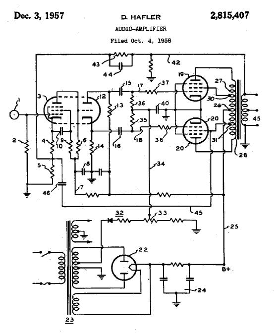 Hafler Amplifier 100 blog entry and google patent search dynaco st70 wiring diagram at reclaimingppi.co