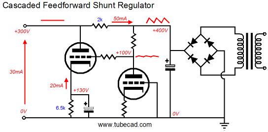 passive and active shunt regulators