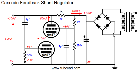 passive and active shunt regulators