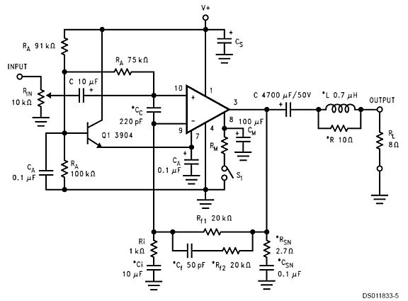 hybrid gainclone amplifiers