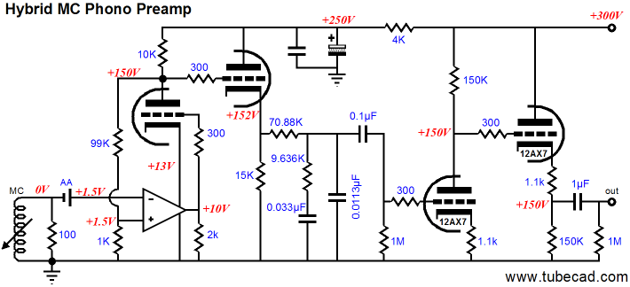 One More Phono Preamp Design