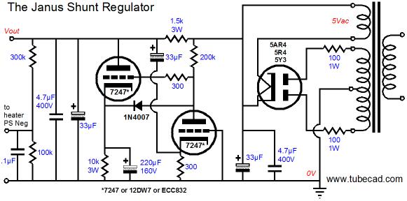 shunt regulator b  in se valve jr