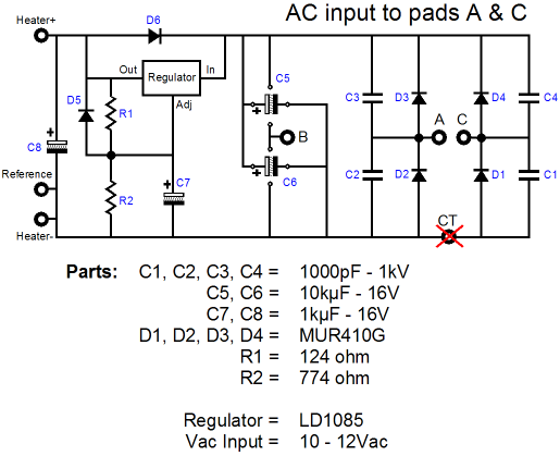 Wiring Diagram For A Tattoo Power Supply : Logitech duet power supply upgrade clunkers for glass