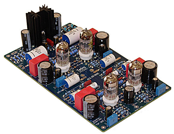 Tetra Phono All In One Amp Broskie Impedance Multiplier