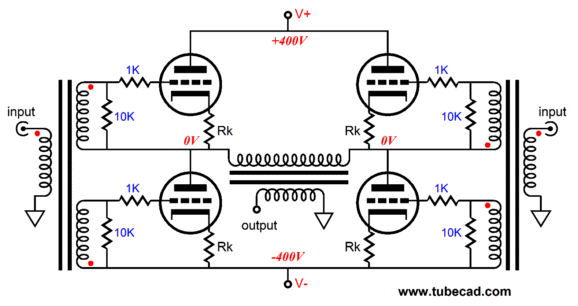 output stage design