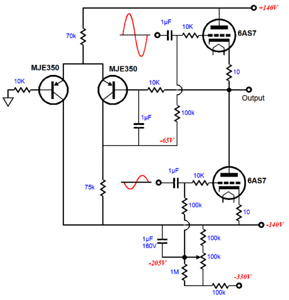 otl amplifier design