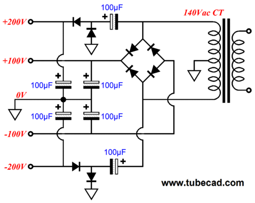 designing power supplies for tube amplifiers pdf