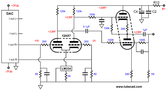 audio output transformer wiring phase