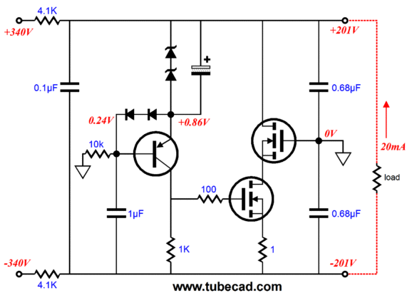 applications of series voltage regulator