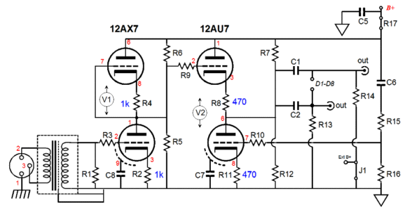 mono tube amp schematic free download  u2022 oasis