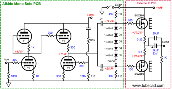 Blog0057 besides Viewtopic moreover 14 valve  s 3 further Hi Fi Pre lifier With Tone Controls Project Circuit in addition Dean Markley Overlord To B K Butler. on 12ax7 amplifier circuit
