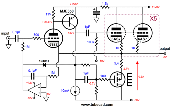 Hybrid Amplifiers & MOSFETs in Series