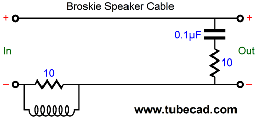 Broskie Speaker Cable speaker cables & power cords speaker cable diagram at soozxer.org