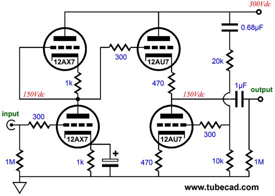 rmaf  u0026 high gain tube circuits