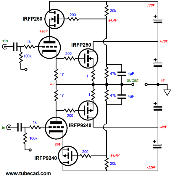 Supercharged OTL Design