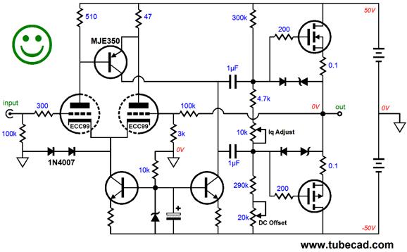 new octal aikido cathode follower  u0026 hybrid topologies
