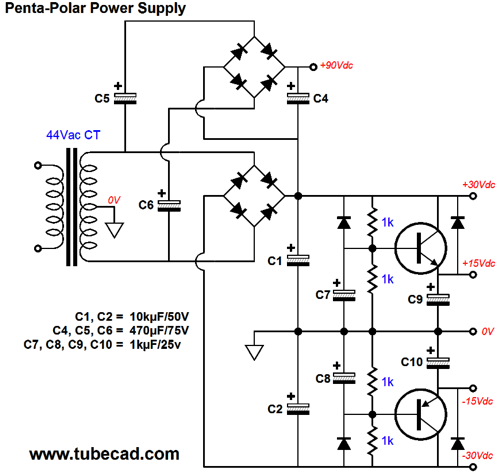 the voltage tripler circuit converts the 30v rail voltage into rh autonomia co