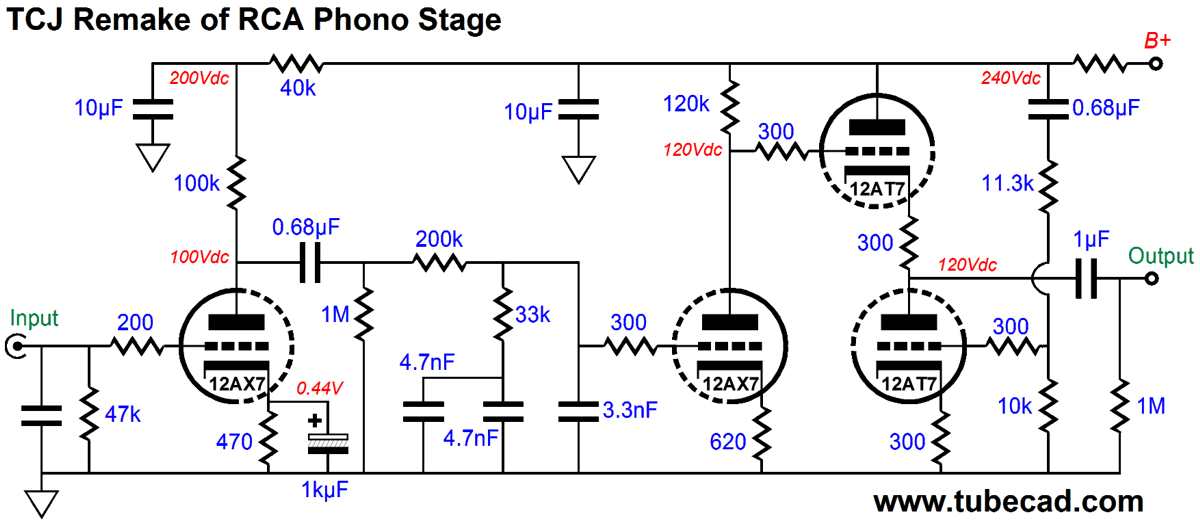 Is this a good phono preamp circuit to build? - Page 5 - diyAudio