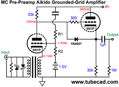 Blog0313 on Tube Phono Preamp Schematic