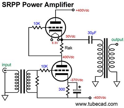 Cathode-Follower& SRPP Power Amplifiers