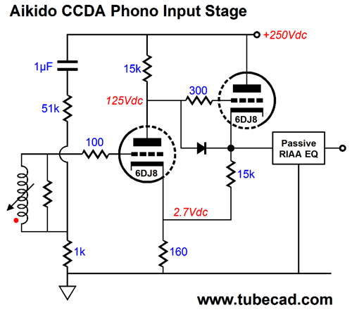pas 3 aikido preamp schematic