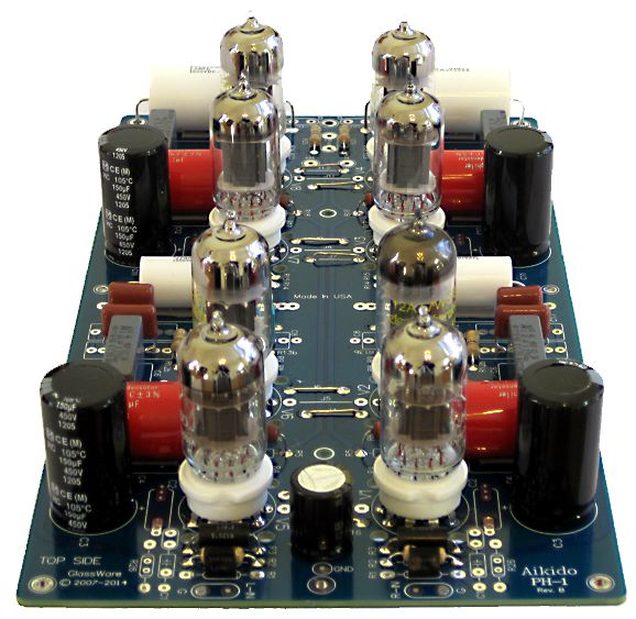 new tube 6p1 \u0026 class ab c circlotronPower Supply For Preamplifiers Revision B #18