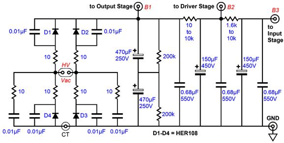new kit ps tube ss valve amplifier rectifiers diy audio heaven