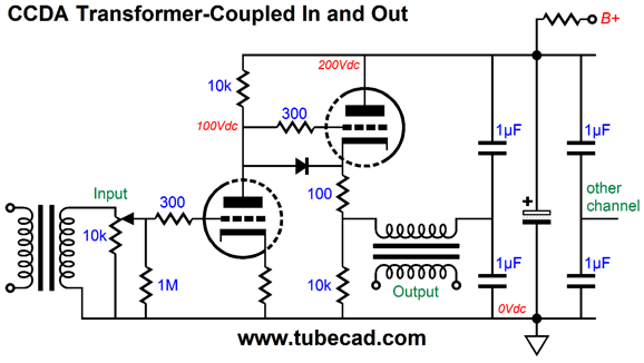 balanced audio rocks why not just one coupling capacitor and why not terminate the output transformer s