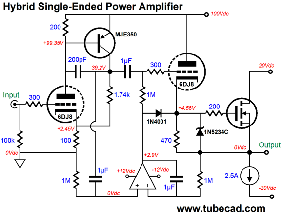 Evermore Single-Ended Amplifiers