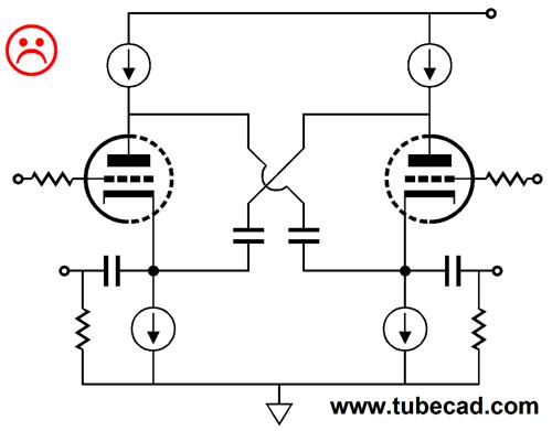 balanced cathode follower