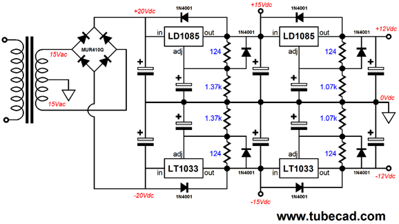 phono stages for digital ripping rh tubecad com 6V to 12V Wiring Diagram 6V to 12V Wiring Diagram