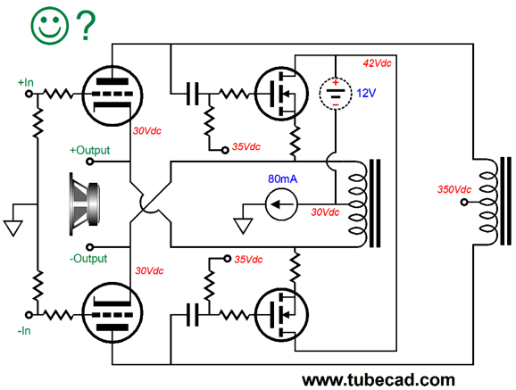 Push Pull Triode Amplifier