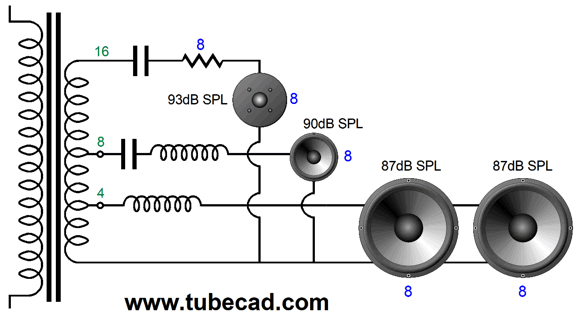[DIAGRAM_5UK]  B-Wiring Part Two | Wiring Diagram Output Tramsformer 4 8 16 Ohm |  | Tube CAD Journal