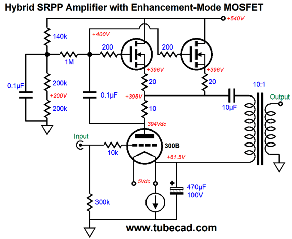 More Speaker Ideas Amp Srpp Power Amplifier