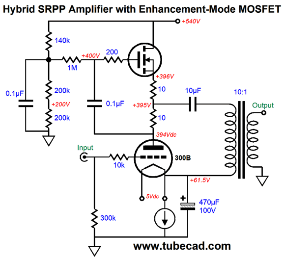 more speaker ideas  u0026 srpp power amplifier
