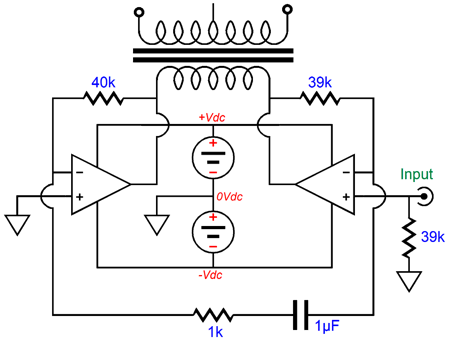 Bridge And Direct Drive Amplifiers