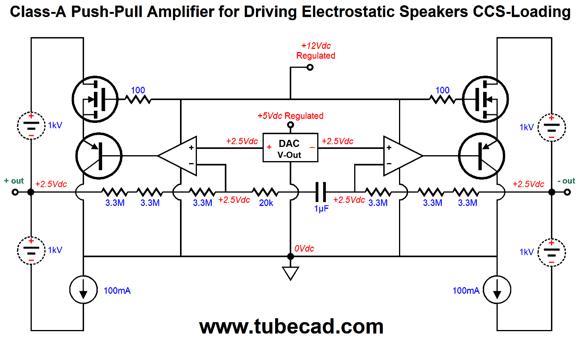 digital electrostatic loudspeakers  u0026 more direct drive