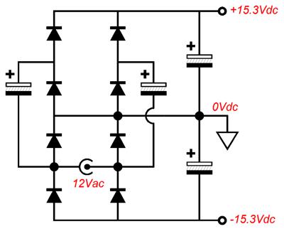simple dc to voltage doubler circuit dc voltage multiplier