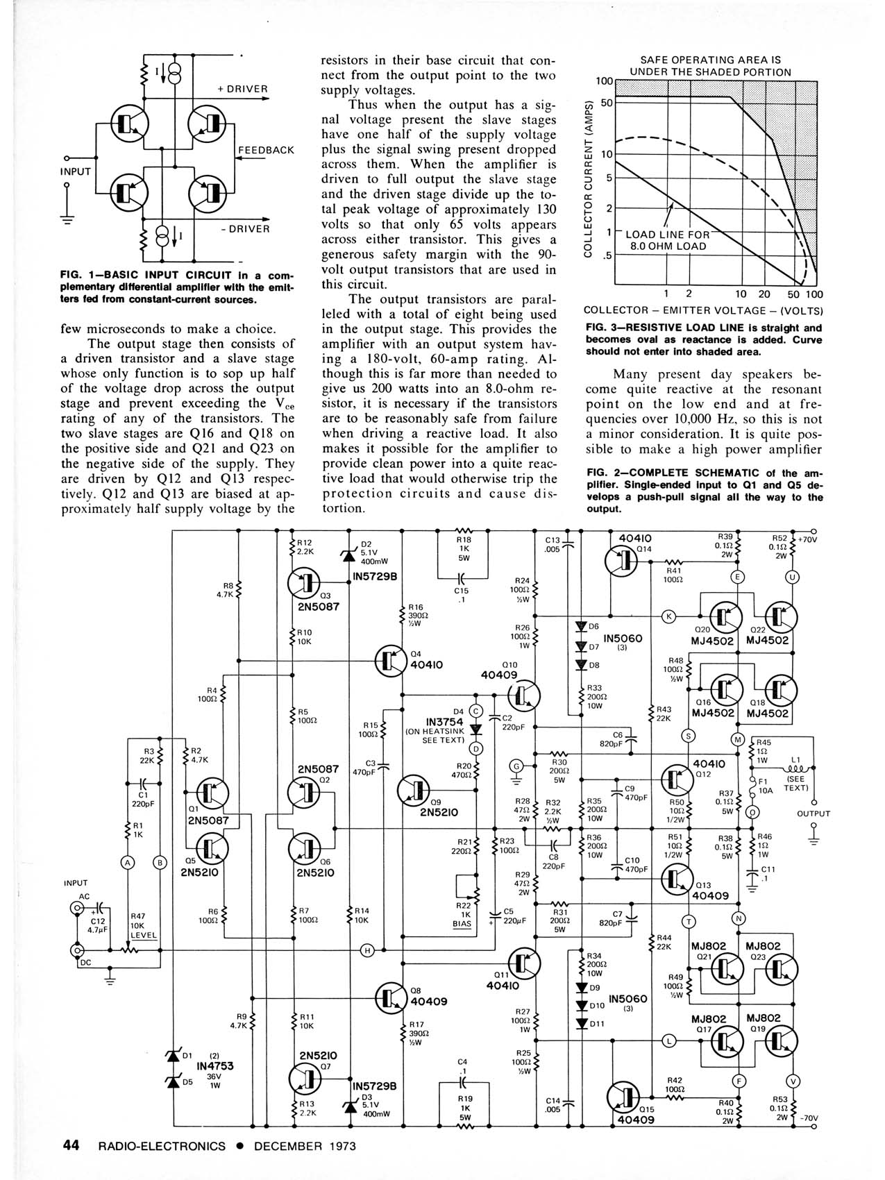 Errata And Power Buffers Lm741 Circuit Click On Image To See Enlargement