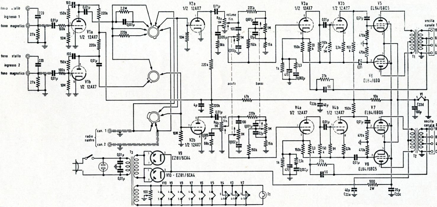 Totem Pole Front End Circuit Simulator Crossover I Showed Similar Designs In Post 394 The Second Interesting Schematic Belonged To An Integrated Stereo Tube Based Power Amplifier