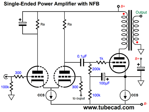Two-Amplifier Cascade