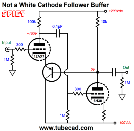 New Adventures in the White Cathode Follower